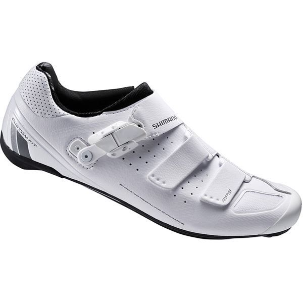 Shimano RP9 SPD-SL shoes, white, size 42