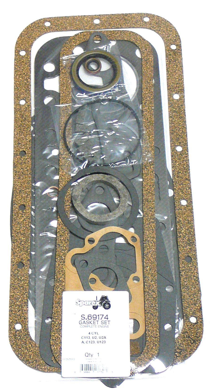 INT. HARVESTER GASKET SET-COMPLETE 69174