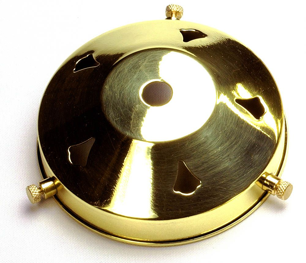 3.25 inch Polished Brass Gallery 10mm hole