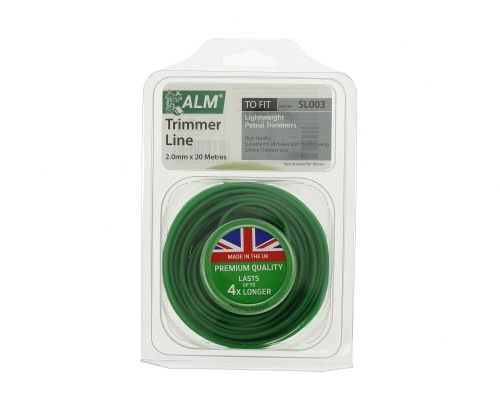 Trimmer Line: 2.0mm 20m Green Round Cutting Line SL003