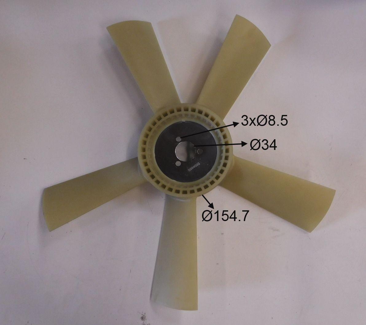 Iveco Radiator Fan