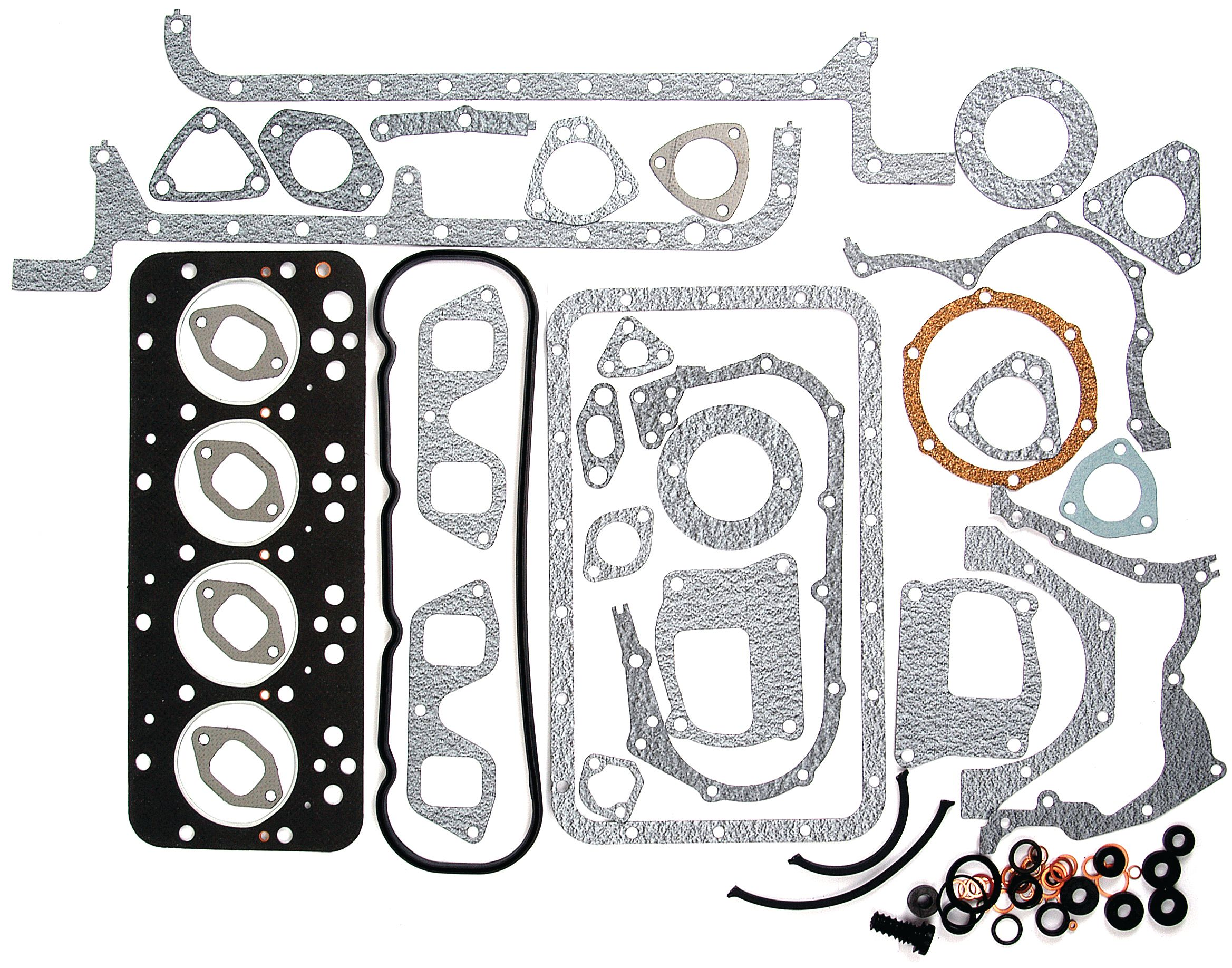 WHITE/OLIVER GASKET SET-FULL W/O SEALS 62081