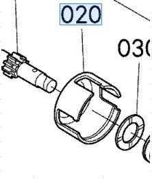 Kubota Mower GR2100 Steering Clutch Case