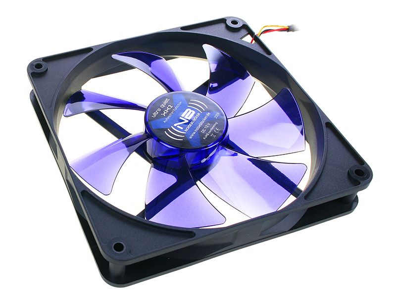 NOISEBLOCKER BLACKSILENT FAN XK2 - 140MM (1100RPM) ITR-XK-2