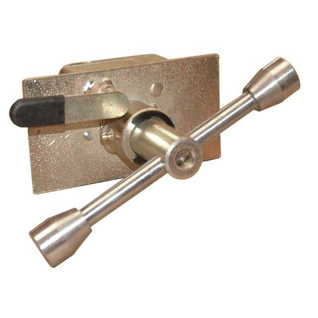 CURTAIN TENSIONER - ROUND BAYONNET FITTING A8986