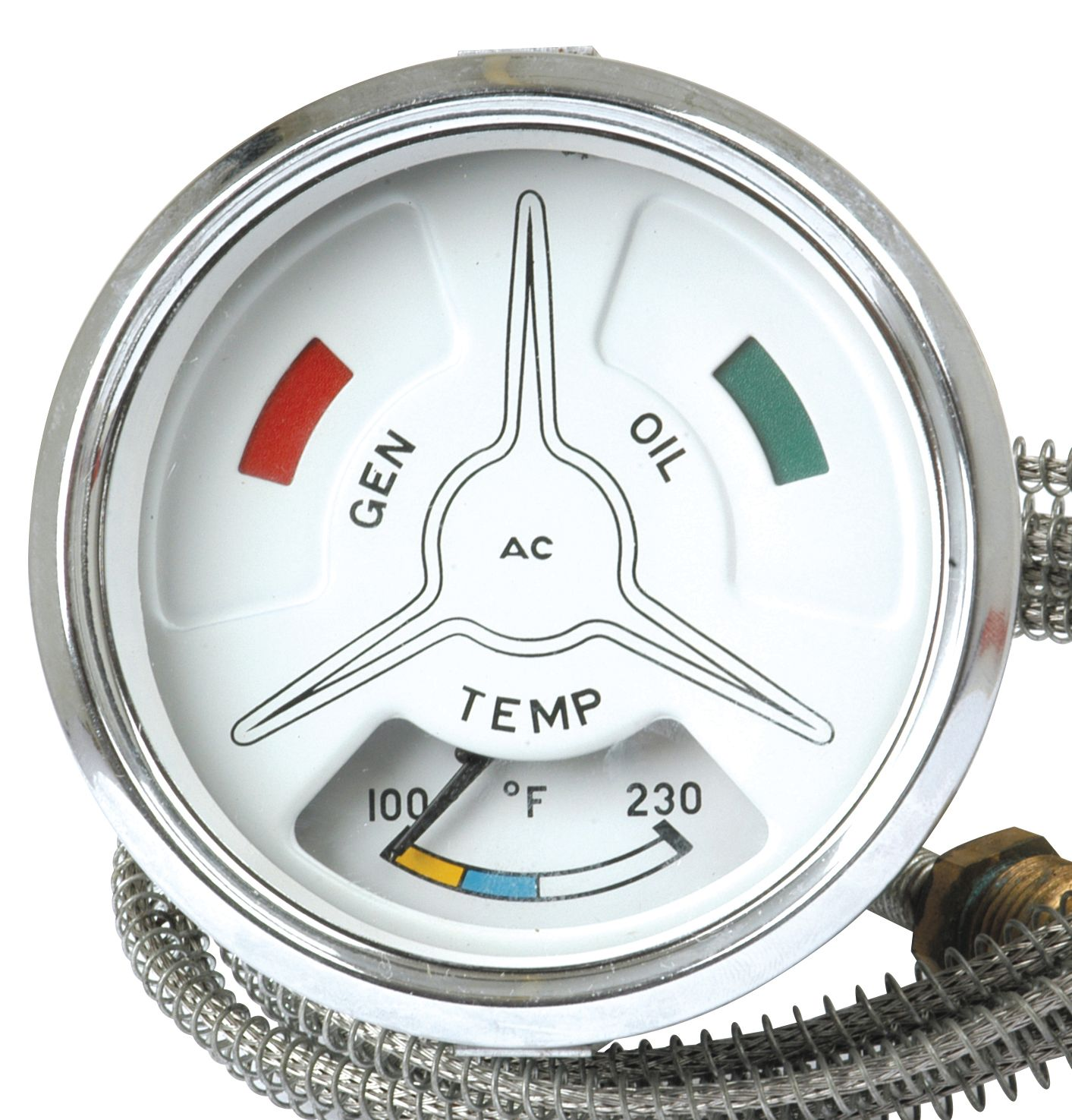 FORD NEW HOLLAND GAUGE-TEMPERATURE 66847