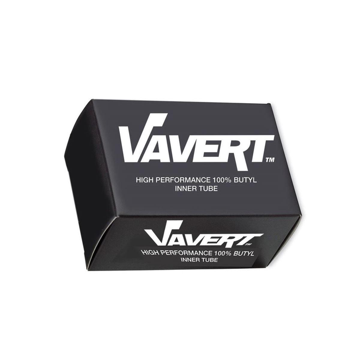 Vavert Inner Tube 16X1.75/1.95 Schrader Valve: Black 16