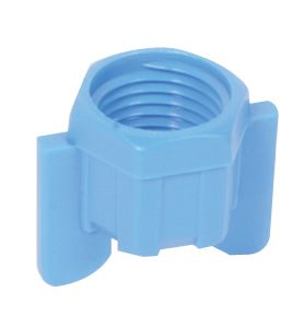 NOT SPECIFIED NUT-BLUE PLASTIC 6X4