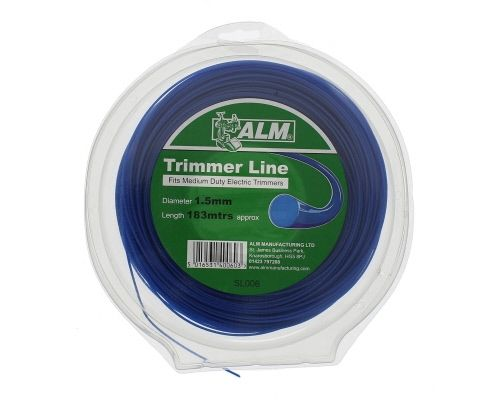 Trimmer Line: 1.5mm 183m Blue Round Cutting Line