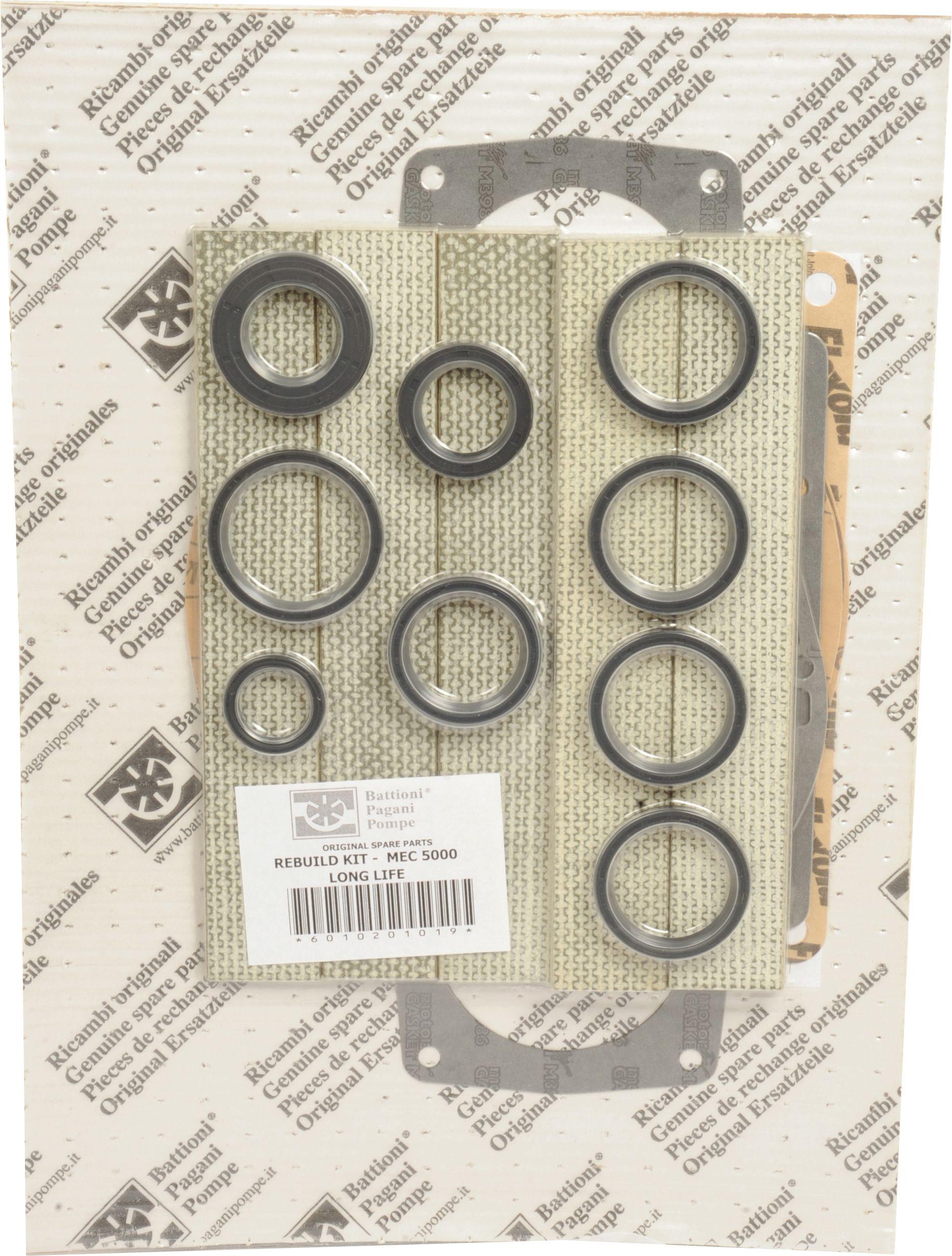 BATTIONI PAGANI POMP REBUILD KIT-MEC 5000 L/L 101963