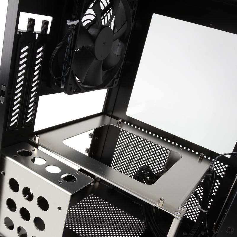 LIAN-LI PC-Q33WB MINI-ITX CUBE - BLACK WINDOW