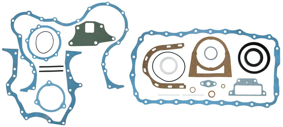 EMMARK NEW HOLLAND GASKET SET, BOTTOM - (87295270)