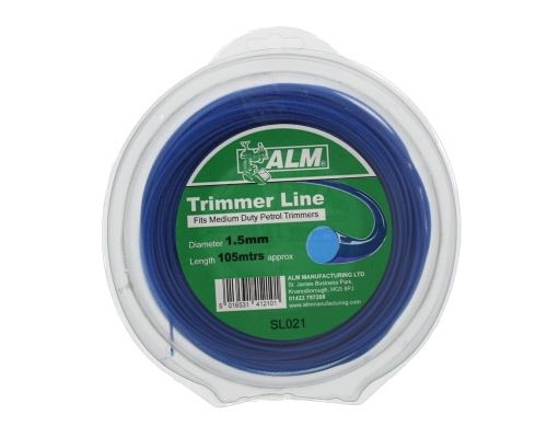 Trimmer Line: 1.5mm 92m Blue Round Cutting Line