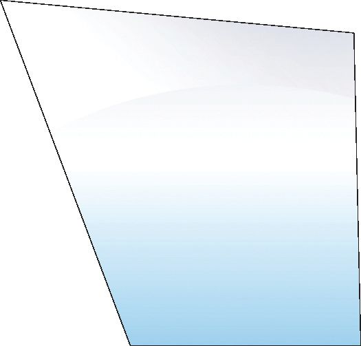 VALMET & VALTRA GLASS-FRONT-LOWER-RH