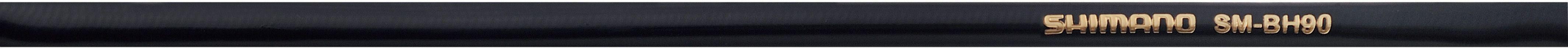 SHIMANO SPARES D/BRAKE BH90-JK HOSE S/CNCT 1000MM FR BK BLACK SMBH90JKSSL100