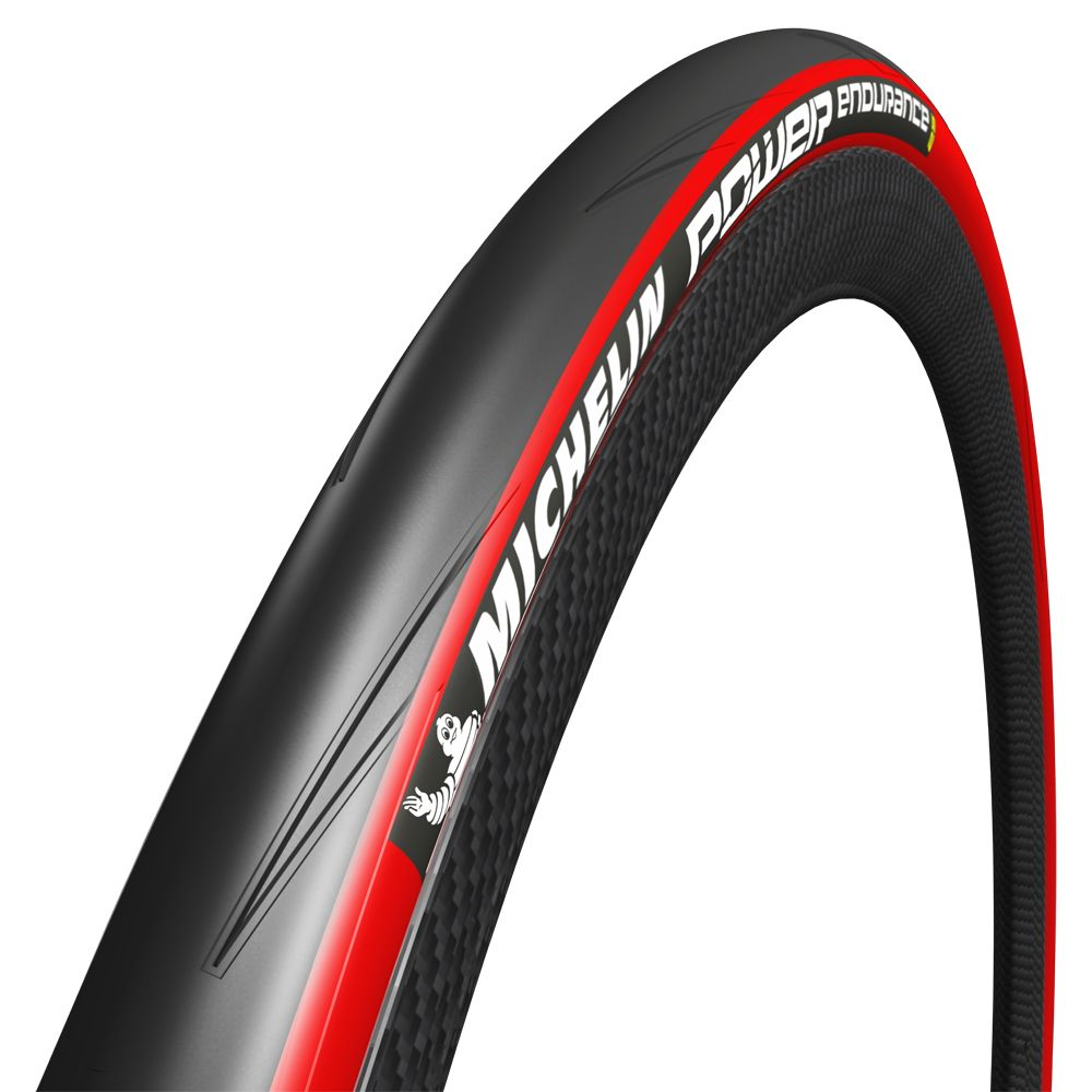 MICHELIN POWER ENDURANCE FOLD 700X23 RED
