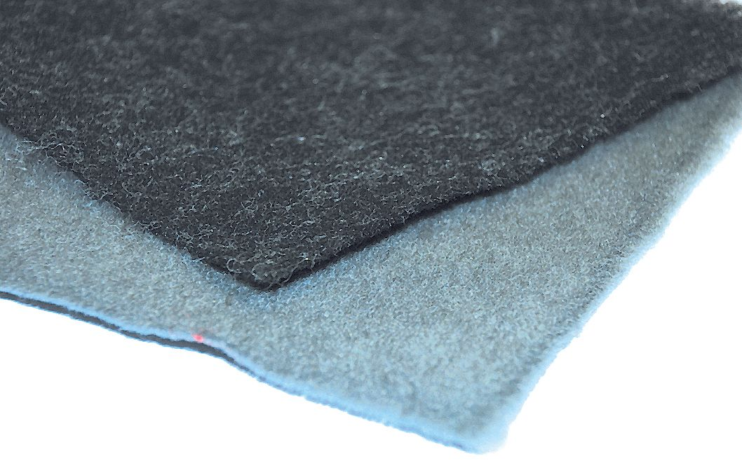 SANDERSON NEEDLE PRESS CARPET-DARK GREY