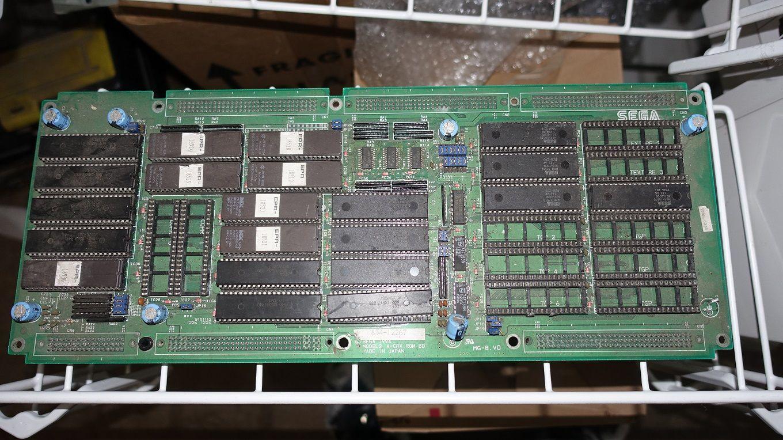 SEGA MODEL2 A CRX ROM BOARD SEGAMODEL2ACRXROMBOARD