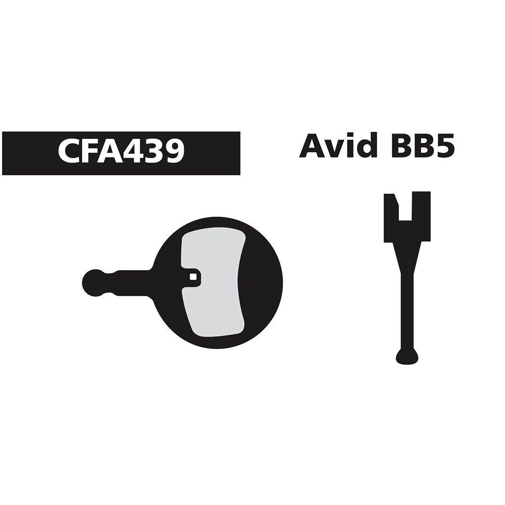 EBC EBC AVID BB-5 GREEN FA439