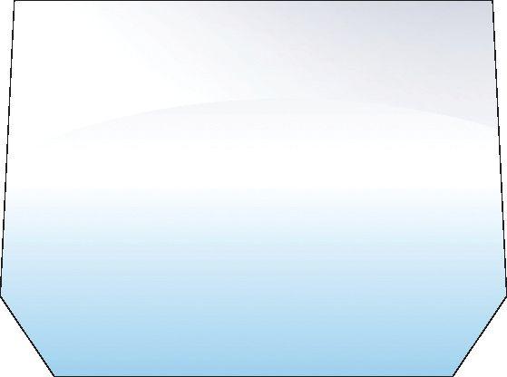 ZETOR REAR-UPPER-10 HOLES (TINTED)