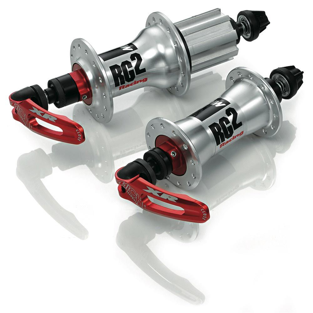 MICHE RACING BOX HUBS SIL CA 24/28H PAIR MCH47