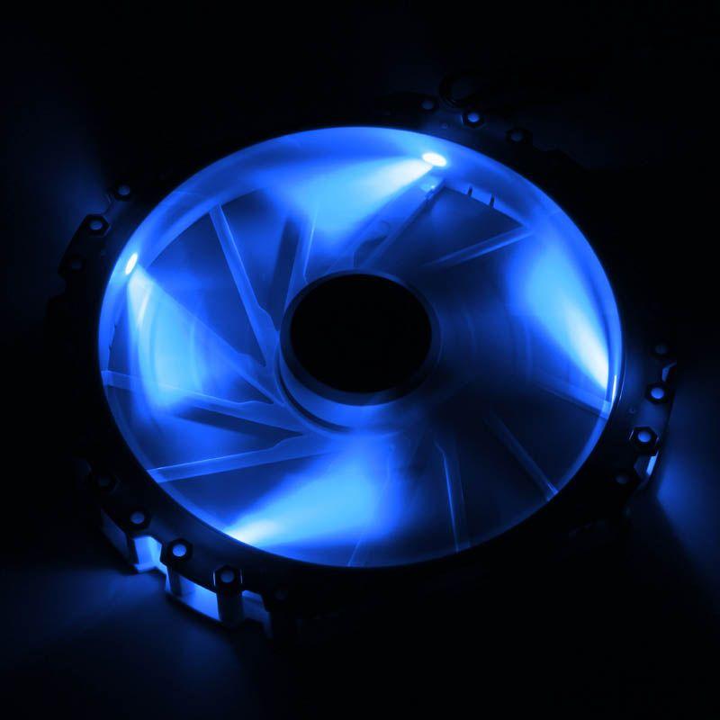 BITFENIX SPECTRE PRO 230MM BLUE LED FAN - WHITE BFF-WPRO-23030B-RP