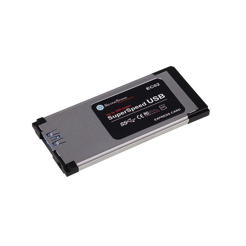 SILVERSTONE USB 3.0 SINGLE PORT EXPRESSCARD (SST-EC02)