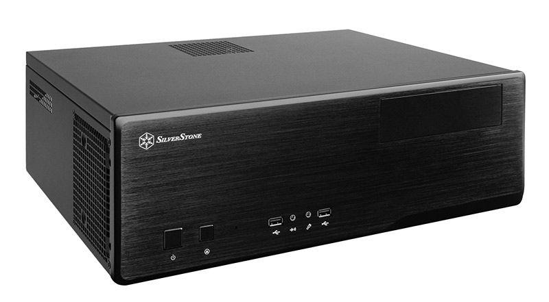 SILVERSTONE GRANDIA GD05 DESKTOP HTPC CASE - BLACK (SST-GD05B USB3.0) SST-GD05B USB 3.0