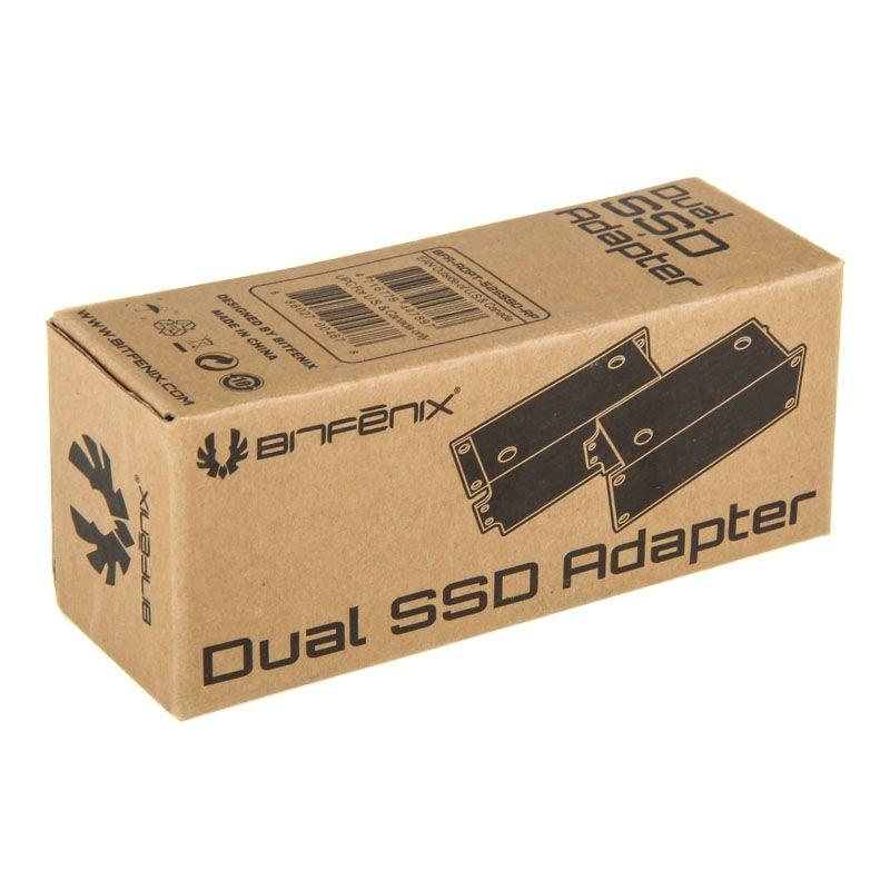 BITFENIX DUAL SSD ADAPTER FOR 2X2 5 INCH SSD / HDD BFA-ADPT-525SSD-RP