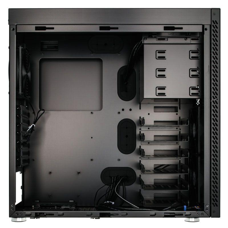 LIAN-LI PC- A61WX MIDI- TOWER - BLACK WINDOW PC-A61WX