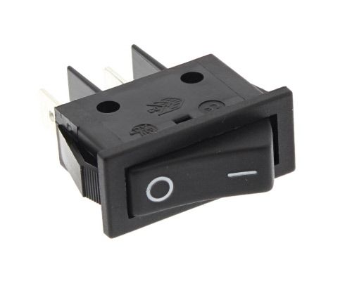 Rocker Switch: Single: Black RSW40