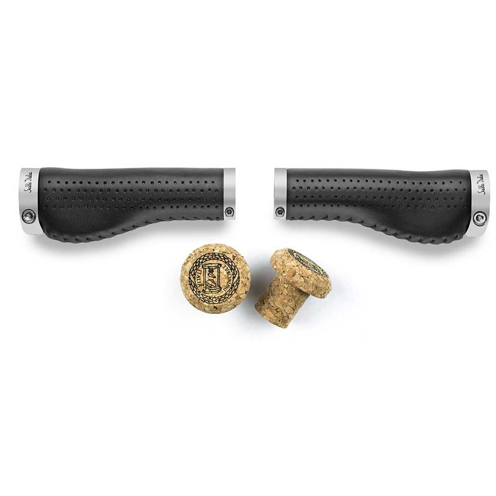 SELLA ITALIA EPICA LEATHER ERGO GRIPS BLK SIA900K