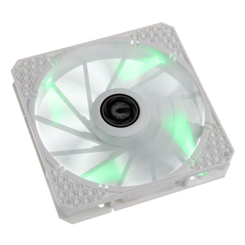 BITFENIX SPECTRE PRO 140MM FAN GREEN LED - WHITE BFF-WPRO-14025G-RP
