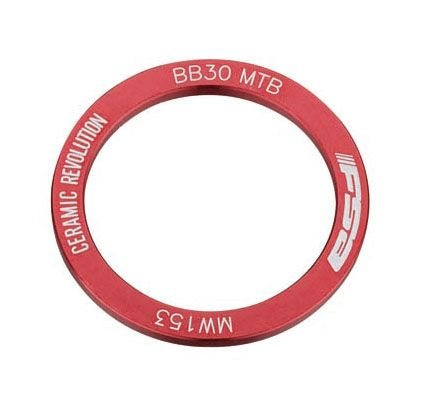 FSA BB30 BEARING COVER (RIGHT, RED, MW153) 2304080