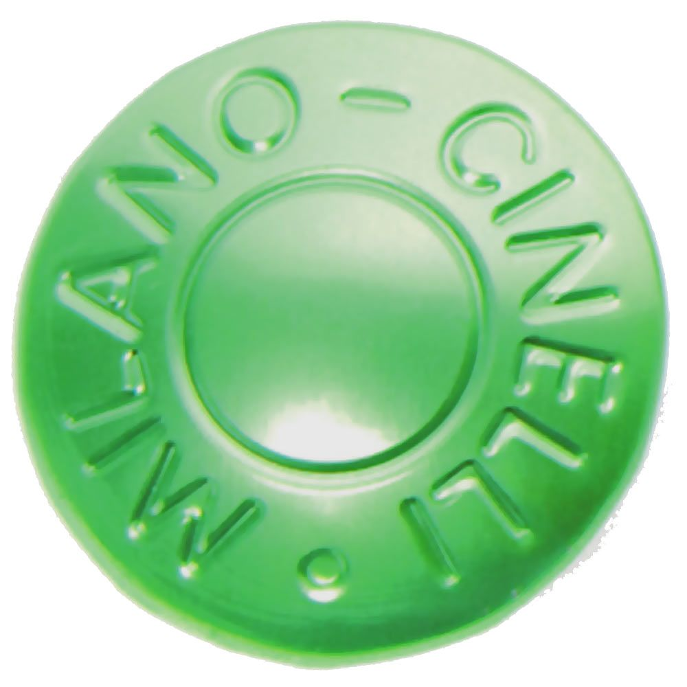 CINELLI MILANO BAR END PLUGS GREEN PAIR