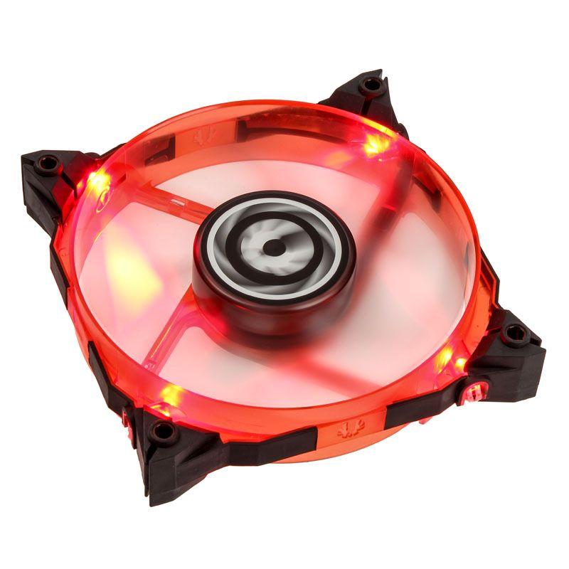 BITFENIX SPECTRE XTREME 120MM FAN RED LED - BLACK BFF-SXTR-12025R-RP