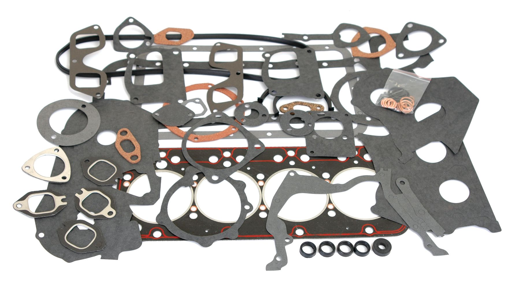 FIAT GASKET SET-FULL W/O SEALS 62105