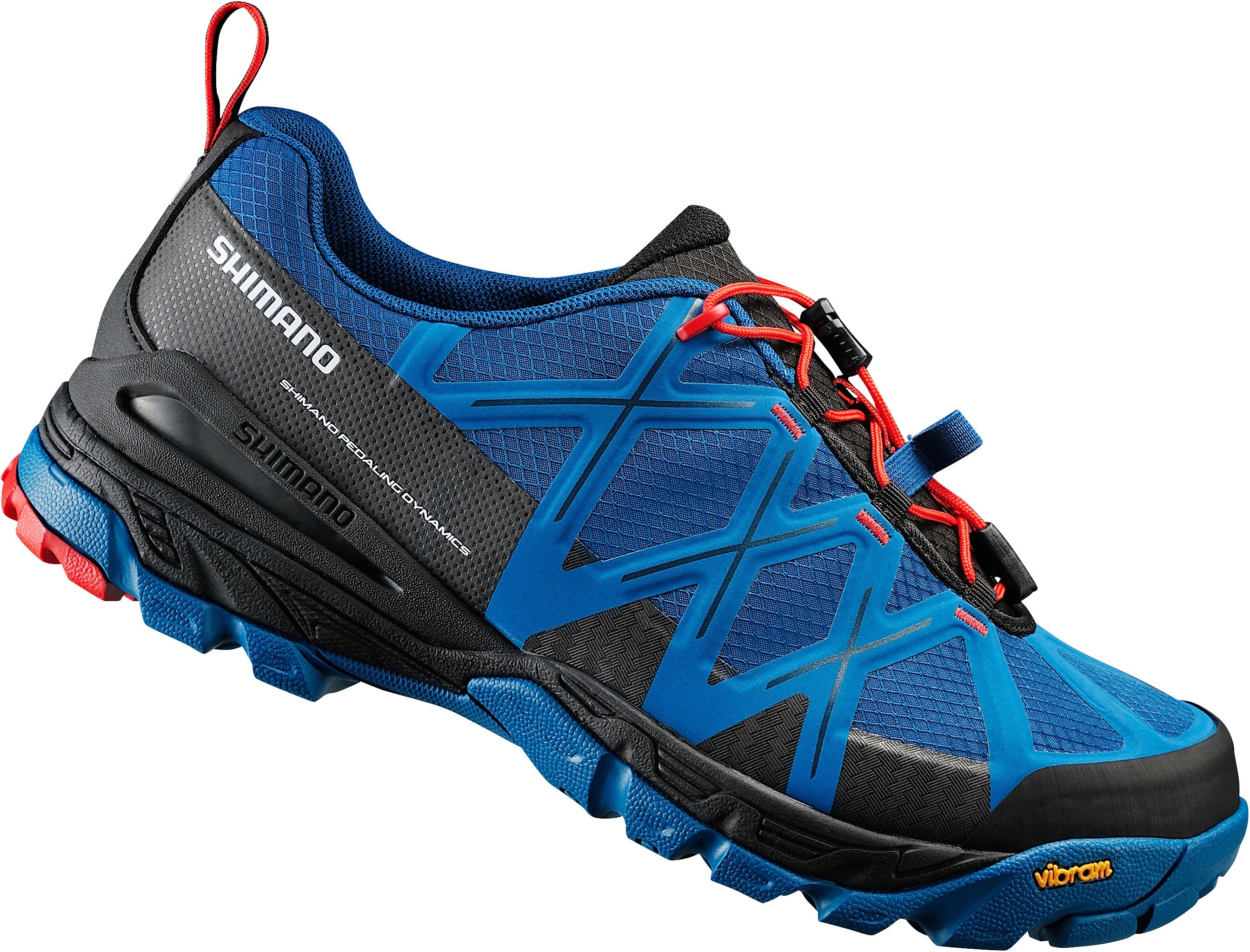 SHIMANO TRAIL / LEISURE SHOES SHOE SPD MTB MT54 BE/BE SIZE 48 BLUE/BLUE BMT54B48