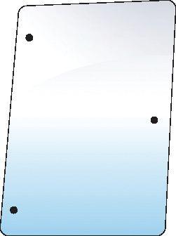 STEYR GLASS-SIDE-RH-3 HOLES
