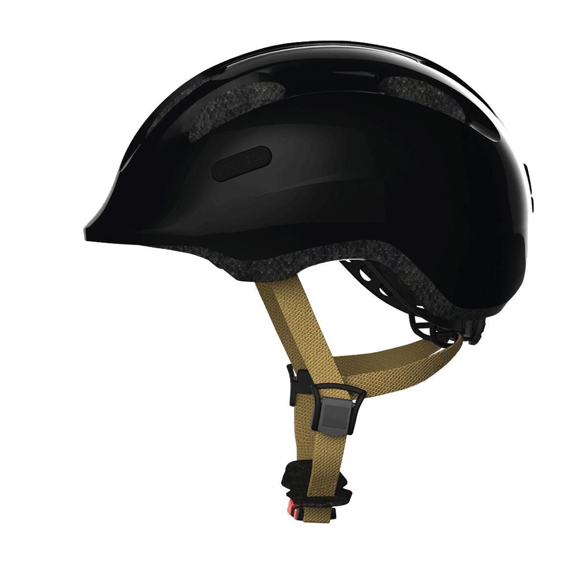 Abus Smiley 2.0 Kids Helmet: Royal Black S/M 45-50Cm