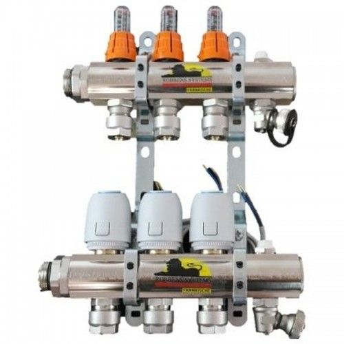 ROBBENS SYSTEMS 2 LOOP MANIFOLD EXTENSION WITH FLOWMETERS SUB0034