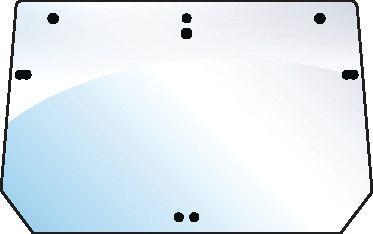 CASE IH GLASS-REAR UPPER-7 HOLES 100582