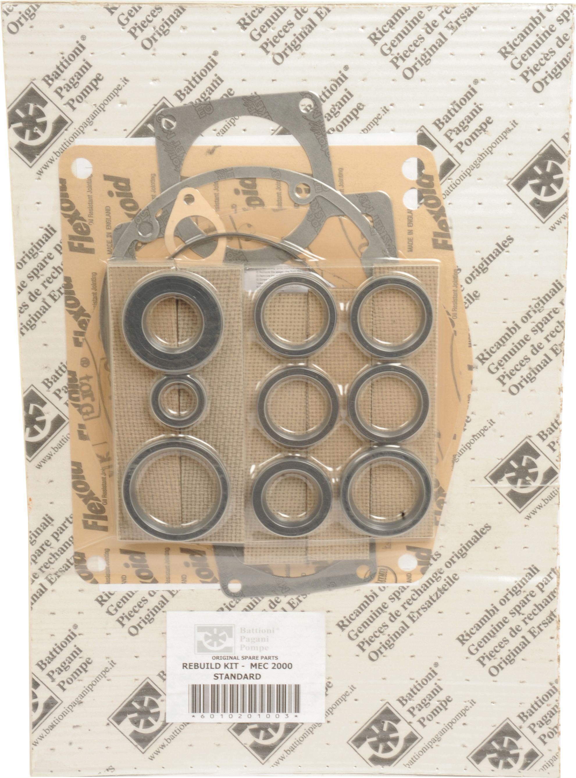 BATTIONI PAGANI POMP REBUILD KIT-MEC 2000 STD 101956