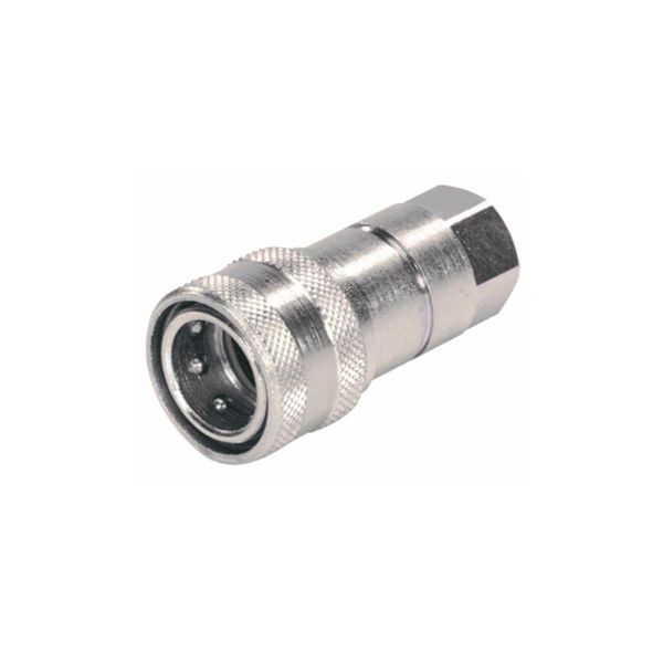 Female Quick Release Hydraulic Coupling - 3/8