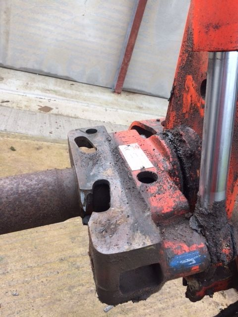 Kuhn Headstock M100 4 ET Plough