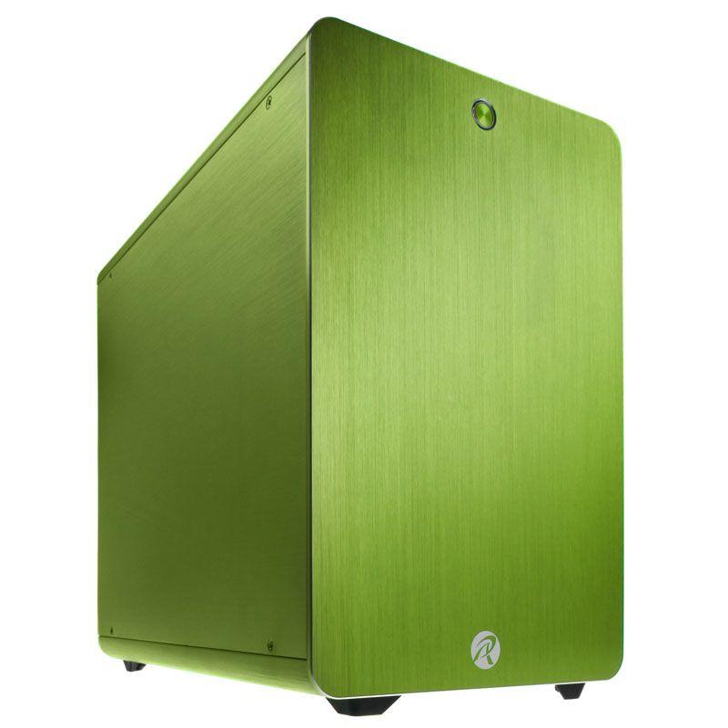 RAIJINTEK STYX CLASSIC - GREEN MICRO ATX CASE 0R200033
