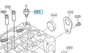Kubota  Engine  D722 Temperature Sensor
