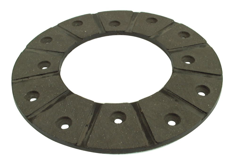 NUFFIELD BRAKE LININGX4-C/W 24 RIVETS 13975