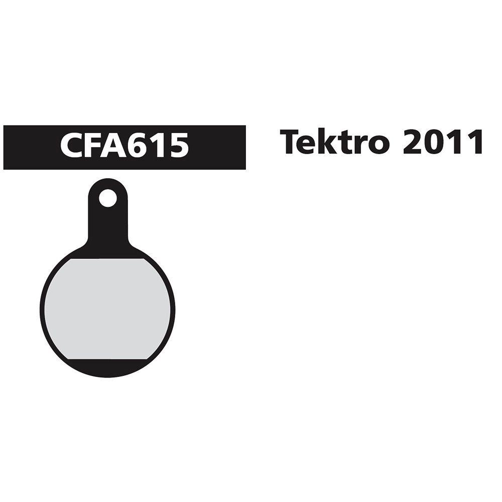 EBC TEKTRO LYRA / IOX.11 RED FA615R