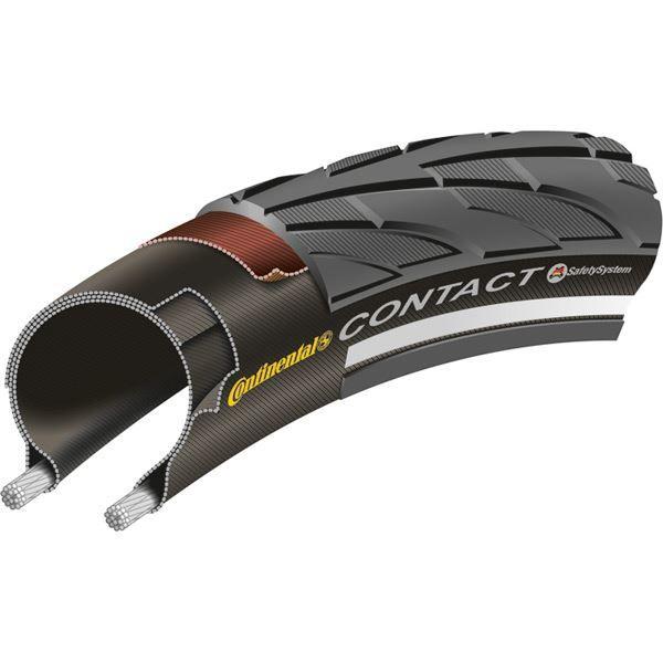 Continental Contact II Reflex 700 x 42C Black Tyre